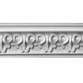 2 м - экструдированный белый фигурный МартинПласт