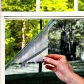 Солнцезащитная зеркальная плёнка